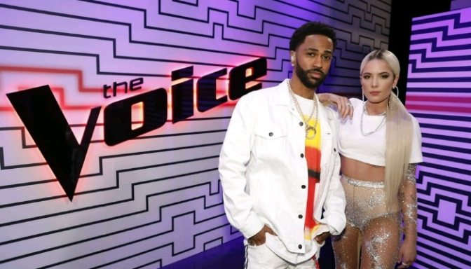 """Halsey & Big Sean Perform """"Alone"""" on The Voice"""
