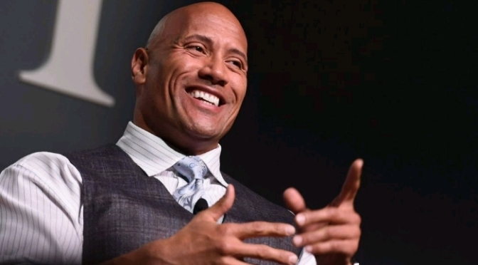 The Rock Unveils His Signature Shoe with Under Armour