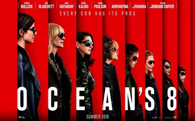 """Checkout the NEW Trailer For """"Ocean's 8"""""""