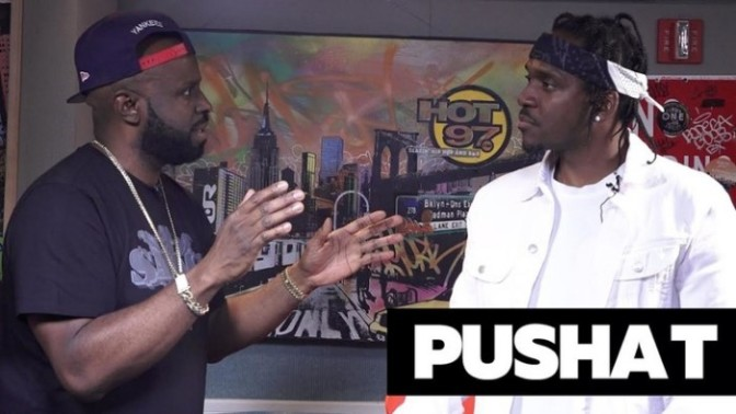 "Pusha T Talks ""DAYTONA,"" Drake & More with Funk Flex"