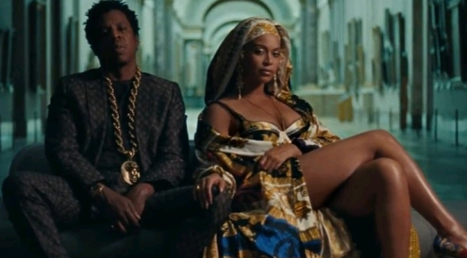 "(Video) THE CARTERS ""APES**T"""