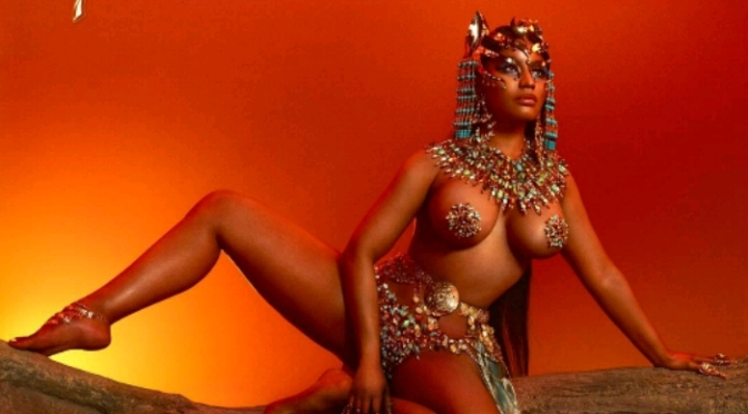 "Nicki Minaj Reveals Artwork For ""QUEEN"""