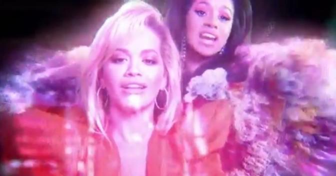"(Video) Rita Ora Feat. Cardi B, Bebe Rexha & Charli XCX ""Girls'"