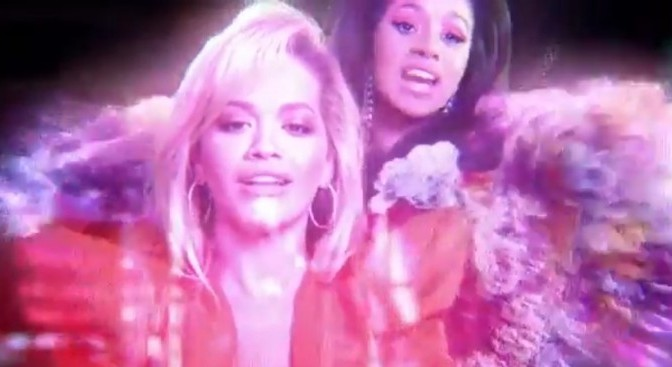 "(Video) Rita Ora Feat. Cardi B, Bebe Rexha & Charli XCX ""Girls'"