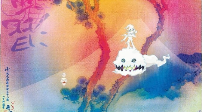 "Kanye West & Kid Cudi Reveal Artwork For ""Kids See Ghosts"""