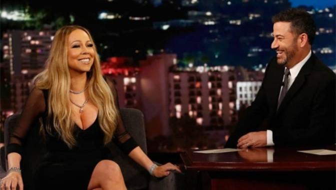 Mariah Carey On Kimmel