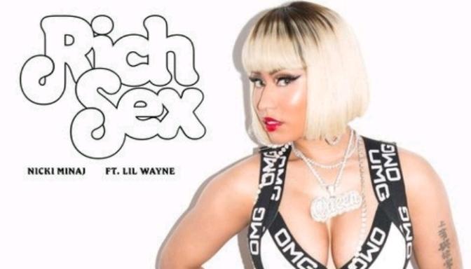 "Nicki Minaj Feat. Lil Wayne ""Rich Sex"""