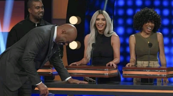 Kanye West, Kim, Khloe, Kris Jenner & More Appear On Family Feud