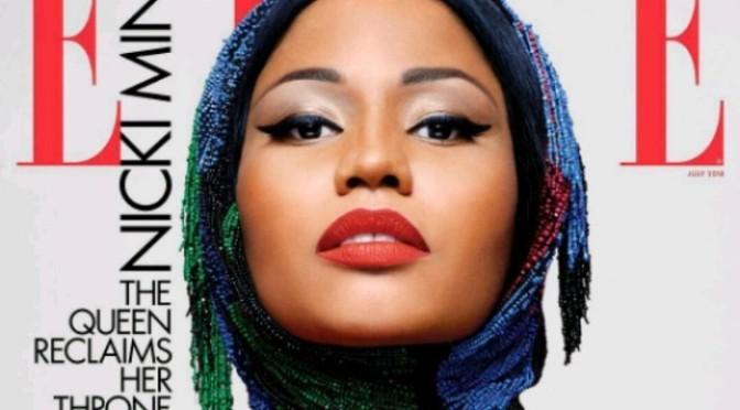 Nicki Minaj Covers ELLE