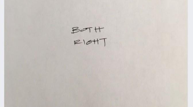 "Problem ""Both Right"""