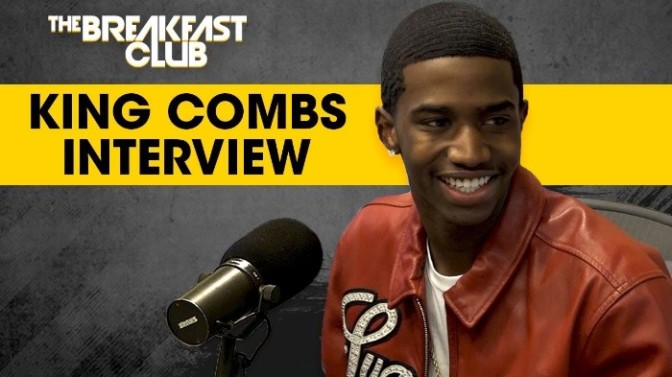King Combs On The Breakfast Club