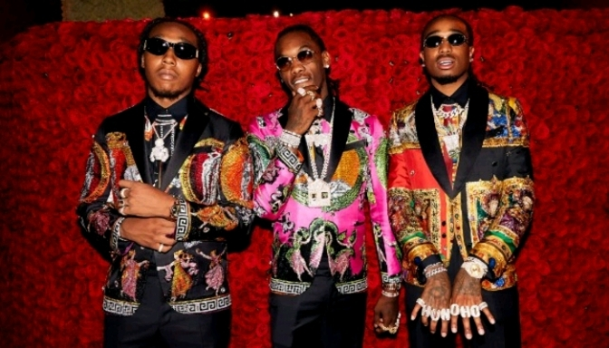 "Checkout The Migos Demo Version Of ""APES**T"""
