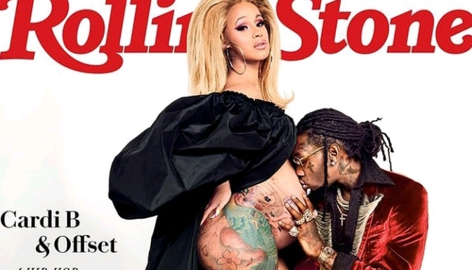 Cardi B & Offset Cover Rolling Stone