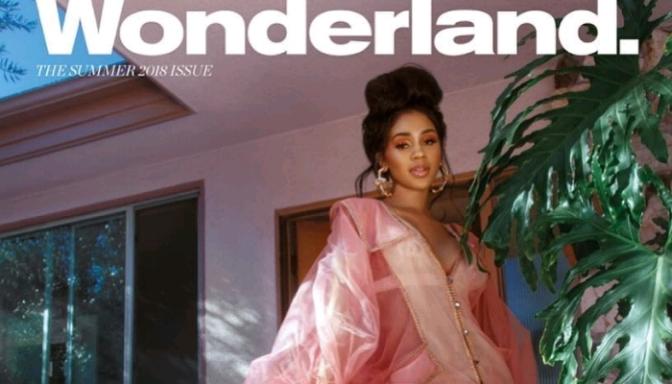 Saweetie Covers Wonderland Magazine