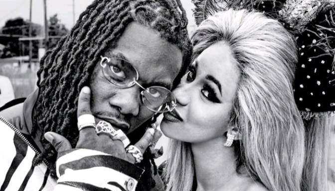 Cardi B & Offset For Rolling Stone
