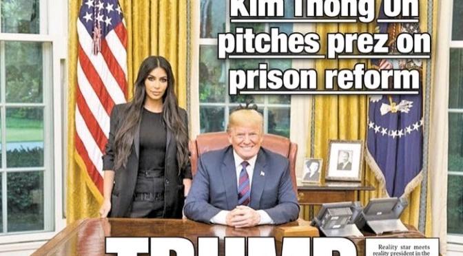 Kim Kardashian Talks Meeting with Trump